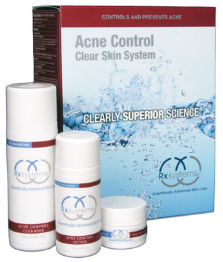 Rx Systems Acne Control Clear Skin System