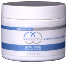 Rx Systems Exfoliating Facial Mask 2 oz