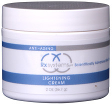 Rx Systems Lightening Cream 2 oz - beautystoredepot.com