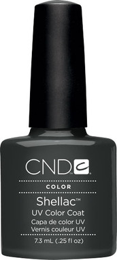 Shellac UV Color Coat Asphalt .25 oz