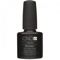 Shellac UV Color Coat Black Pool