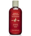Simply Organic Refresh Hair & Scalp Wash 8.5 oz