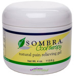 Sombra Natural Pain Relieving Gel Cool Therapy 4 oz.