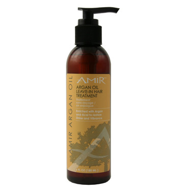 Amir Argan Oil Leave-In-Treatment 5.8 oz - beautystoredepot.com
