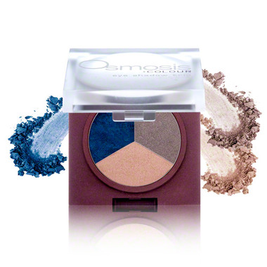 Osmosis Colour Eye Shadow Trio - Misty Blue