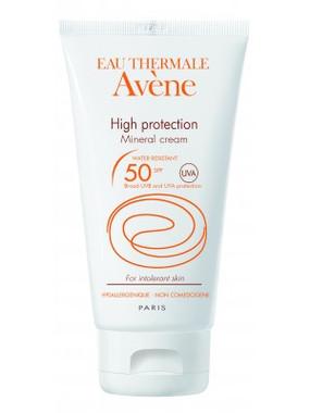 Avene High Protection Mineral Cream SPF 50 1.69 oz