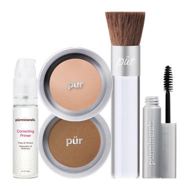 Pur Minerals Start Now Kit - Blush Medium
