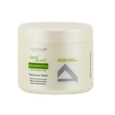 Alfaparf Semi Di Lino Reconstruction Reparative Mask 16.9 oz - beautystoredepot.com