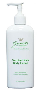 Gunilla of Sweden Nutrient Rich Body Lotion 8.1 oz