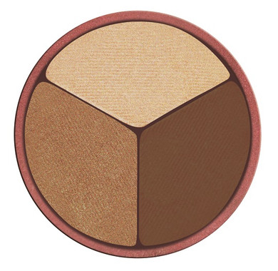 Osmosis Colour Eye Shadow Trio - Bronzed Cocoa - Refill