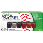 OPI MLB Fashion Plate Mini Hitters Nail Set