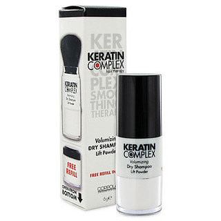 Keratin Complex Volumizing Dry Shampoo Lift Powder 6g with Free Refill