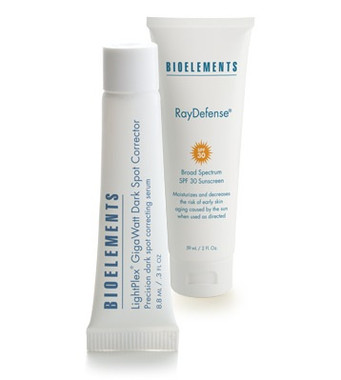 Bioelements Made to Fade Targeted UV Damage Repair Kit