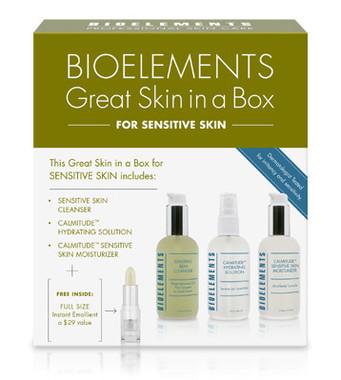 Bioelements Great Skin In A Box Starter Kit - Sensitive Skin - beautystoredepot.com