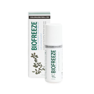 Biofreeze Colorless Roll-On 3 oz