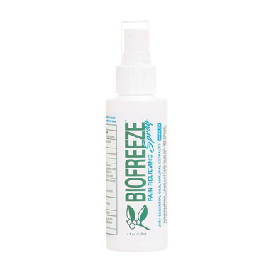 Biofreeze Pain Relieving Spray 4 oz
