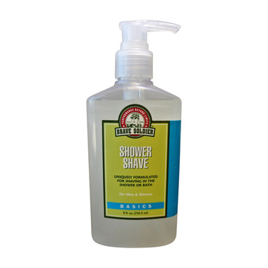 Brave Soldier Shower Shave - Body and Face Shaving - beautystoredepot.com