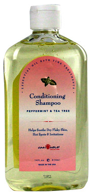 Cain & Able Conditioning Shampoo - Peppermint and Tea Tree 14 oz