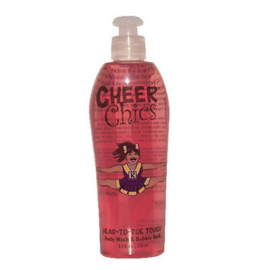 Cheer Chics Head-To-Toe Touch Body Wash 8.5 oz