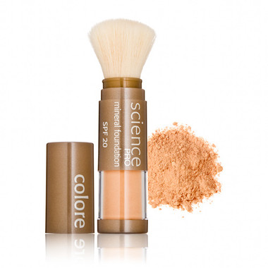 Colorescience Pro Loose Mineral Powder Foundation Brush SPF 20  - California Girl .21 oz
