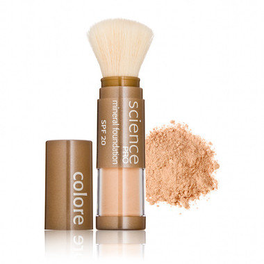 Colorescience Pro Loose Mineral Powder Foundation Brush SPF 20  - Light as a Feather .21 oz