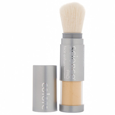 Colorescience Pro Loose Mineral Corrector Brush - Golden Yellow Rose of Texas