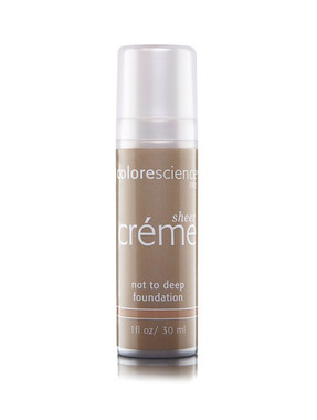 Colorescience Pro Sheer Creme Foundation - Not Too Deep 1 oz