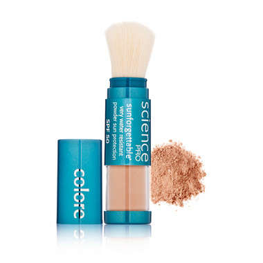 Colorescience Pro Sunforgettable SPF 50 Powder Brush - Tan 6g