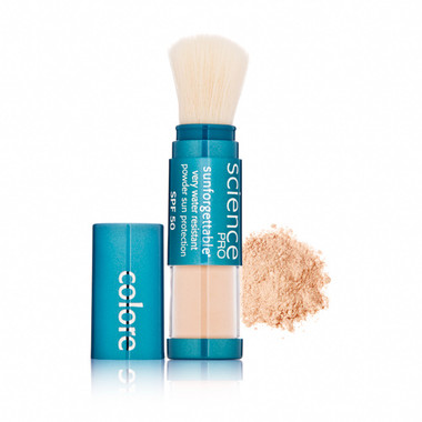 Colorescience Pro Sunforgettable SPF 50 Powder Brush - Fair 6g
