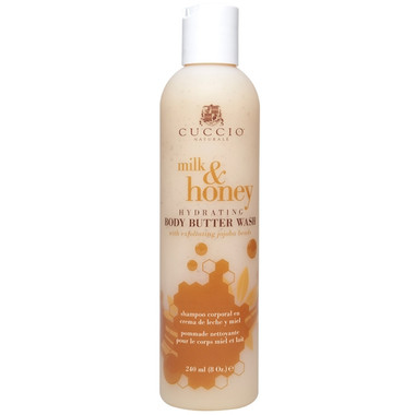 Cuccio Natural Milk & Honey Body Butter Wash 8 oz