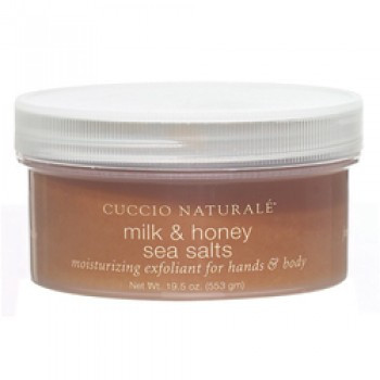 Cuccio Naturale Milk & Honey Sea Salts 19.5 oz