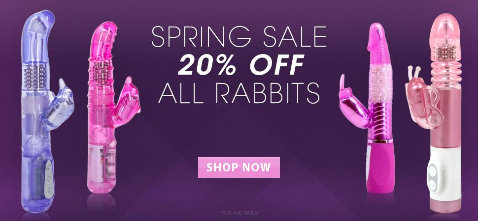 Spring Sale on Rabbits