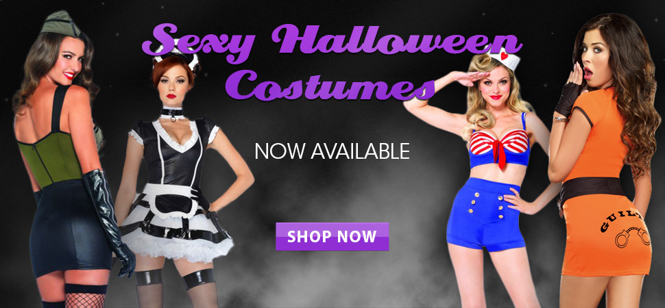 Cirilla's Sexy Halloween Costumes on Sale