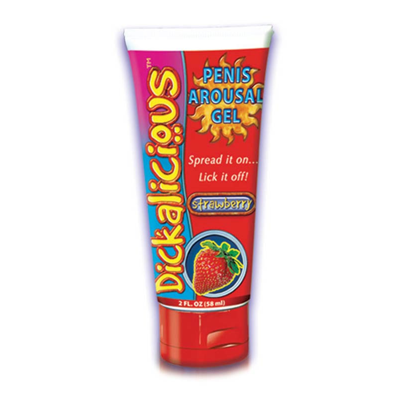 Strawberry Dickalicious Penis Arousal Gel