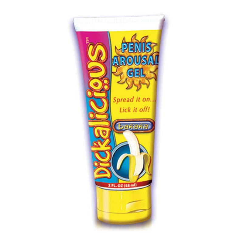 Banana Dickalicious Penis Arousal Gel