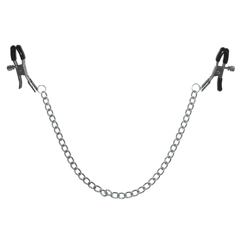 Chained Nipple Clamps