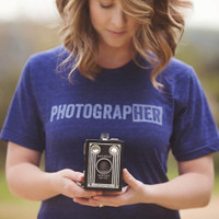 Photograp[her] Tee-UNISEX-New Design!