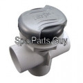PLU21300480 Cal Spas Diverter Valve 2 Tone Grey 2""
