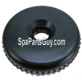 "602-3611 Waterway Plastics Spa 2"" Diverter Valve Cap Only Black Cal Spas, Artesian, Coast"