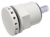 "Hydro Air Spa Air Injector # 119238WHT High Output 3/8"" Barb White"