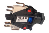 "Herga Air 3 Function Switch Spa Bath Jacuzzi DPDT 20 Amp Latching Center 6872-DGO-U126 9/16"" Center"