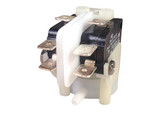 """TRA211A Pres Air Spa Air Switch DPDT 21 Amp Latching 9/16"""" Radial Side Spout"""