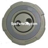 "PLU21701090 Cal Spas Spa Large Face Double Hole Swirly Mini Jet Gray 3 1/4"""