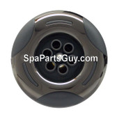"""03-1204-52 Arteisan Spa Jet 3"""" Face Helix Massage Jet Gray w/ Stainless"""