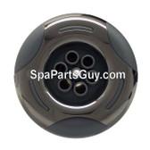 "03-1204-52PE Arteisan Spa Jet 3"" Face Helix Massage Jet Gray w/ Stainless"