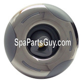 """OP03-1310-52PE Arteisan Spas Helix Roto Spa Jet 4 1/2"""" Face Gray w/ Stainless"""