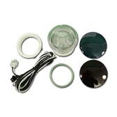 "Waterway Spa 12 Volt Light Lens Kit 3 1/2"" Face  2 1/5"" Hole 630-5205"