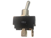 Spa Toggle Switch DPST 20 Amp Metal  # 34-0115