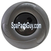 PLU21703129 Cal Spas Large Face Maxi Swirl Spa Jet  Gray 4 1/4""