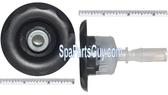 """210260 Vita Spa Midi Jet Face Measures 3"""" In Diameter Graphite Gra w/Silver Nozzle"""
